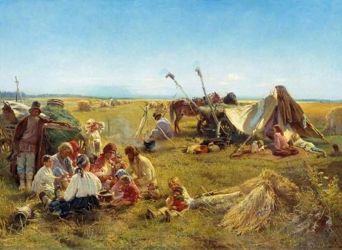 rewolucja agrarna, Konstantin Makovsky, Paleo SMAK