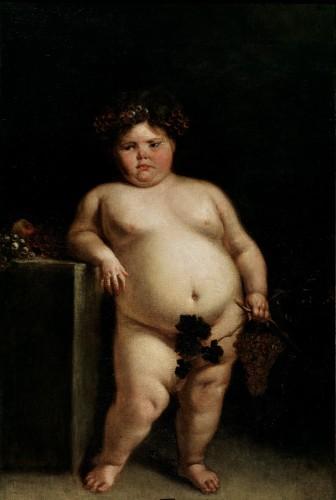 otylosc-dzieci-paleo-smak-La_monstrua_desnuda-Juan_Carreno_de_Miranda