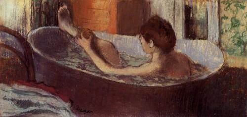 Mycie paleo smak, Edgar Degas