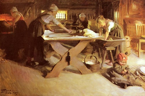 Pieczenie chleba, Paleo SMAK, Anders Zorn