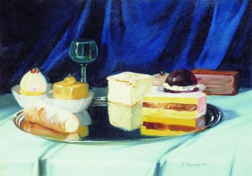 Otyłość paleo smak, Boris Kustodiev