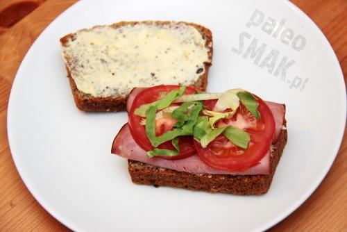 Chleb paleo, kanapka, PaleoSMAK