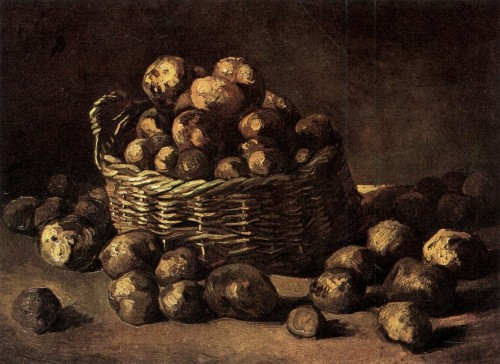 ziemniaki, Vincent van Gogh, Paleo SMAK
