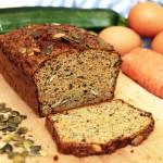 Chleb niskowęglowodanowy paleo (z warzyw)