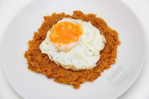 Haś z batata z jajkiem, Paleo SMAK