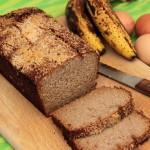 Chleb paleo bananowy (z mlekiem kokosowym)