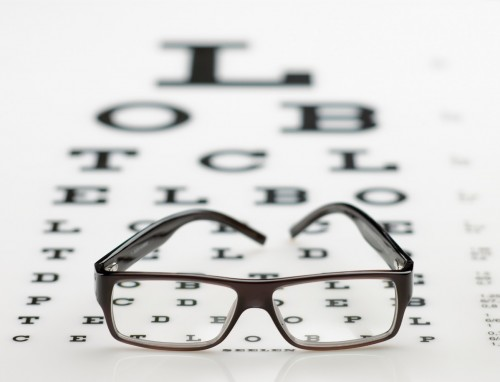 Badanie wady wzroku, mierzenie krótkowzroczności, Paleo SMAK