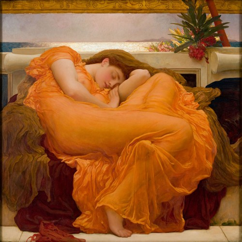 Sen, Paleo SMAK, Flaming June, Frederic Lord Leighton