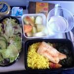 Posiłek bezglutenowy w samolocie - część 1