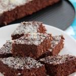 Brownie z kiszoną kapustą (ciasto czekoladowe paleo)