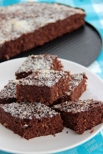 Brownie paleo - ciasto czekoladowe z kiszoną kapustą, Paleo SMAK