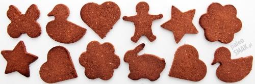 Ciasteczka czekoladowe paleo (z foremek)