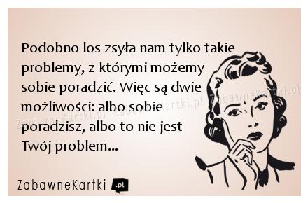 Problemy, zabawnekartki.pl