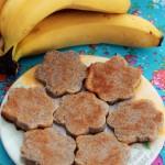 Ciasteczka bananowo-kokosowe (paleo, 2 składniki)