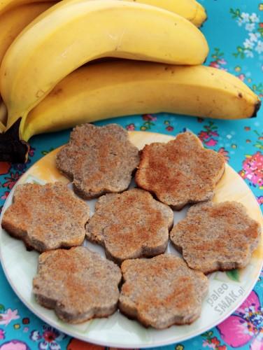 Ciasteczka bananowo-kokosowe, Paleo SMAK
