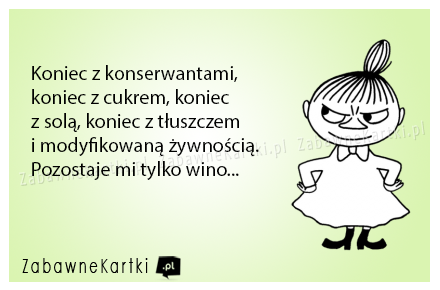 Pozostaje tylko wino