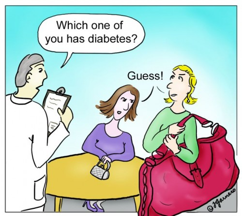 Which one of you has diabetes?