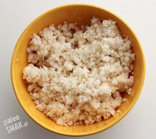 Ryż albo kuskus z kalafiora, PaleoSMAK