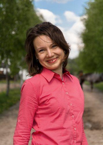 Anna w soczewkach kontaktowych, fot. Sławek Trojan