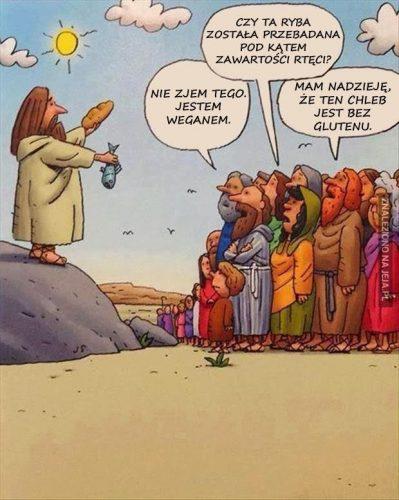 Jezus, ryba i chleb