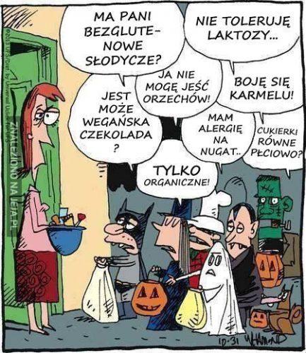 Halloween, dieta
