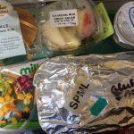 Posiłek bezglutenowy w samolocie - część 3