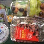 Posiłek bezglutenowy w samolocie – część 4