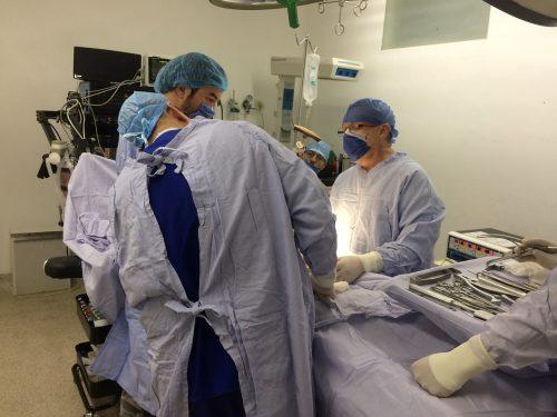 Operacja w szpitalu