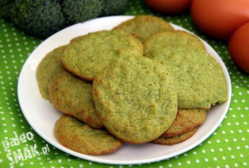 Ciasteczka brokułowe