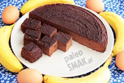 Brownie bananowe paleo SCD