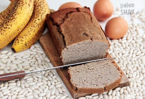 Chleb bananowo-fasolowy