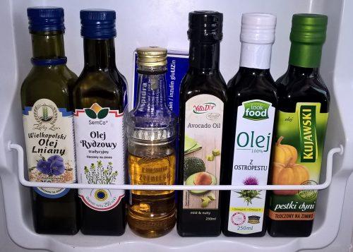 Lodówka: Oleje