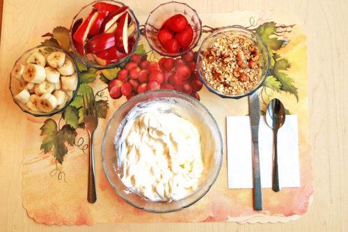 Śniadanie naturalne