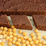 Brownie z ciecierzycy (ciasto czekoladowe paleo)